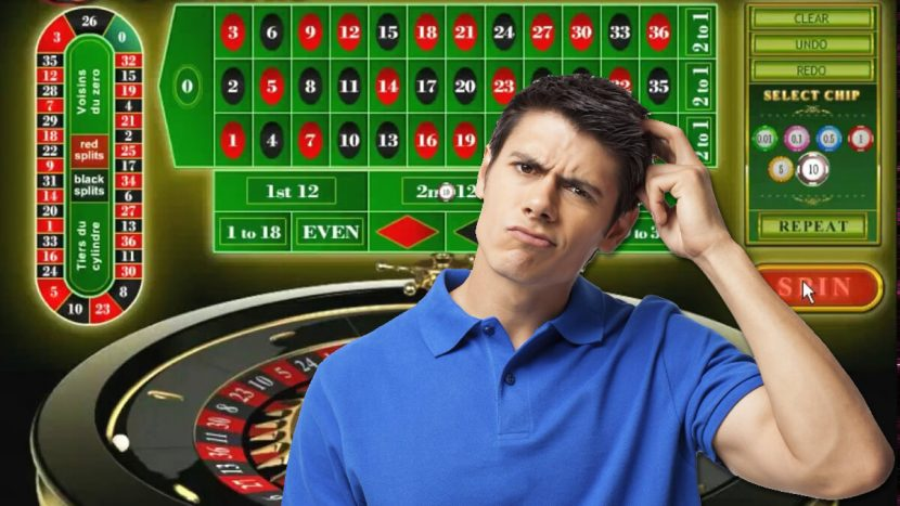 Online Roulette Screenshot Young Man Thinking About Something 830x467 - The Different Benefits You Can Get from Online Casino