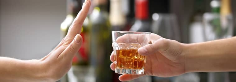stop drinking - Etiquettes in Casino
