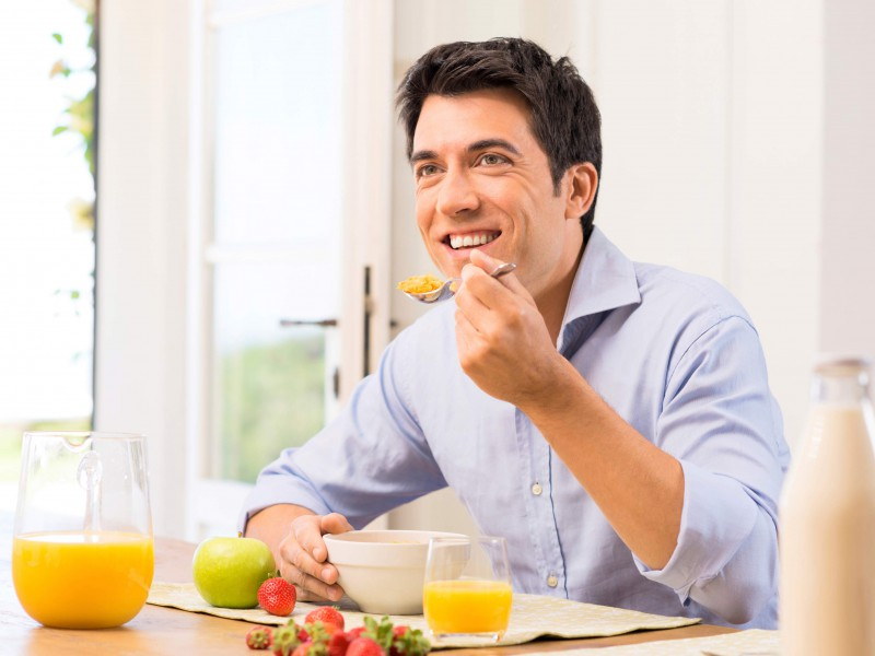 Man Eating Food - Tips To Keep Your Food Fresh For Longer